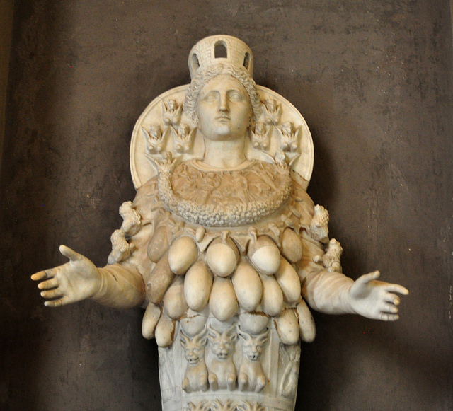 Statue of Diana of Ephesus from the Vatican
