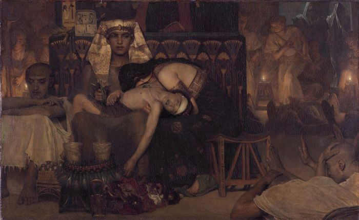 1600px-1872_Lawrence_Alma-Tadema_-_Death_of_the_Pharaoh_Firstborn_son