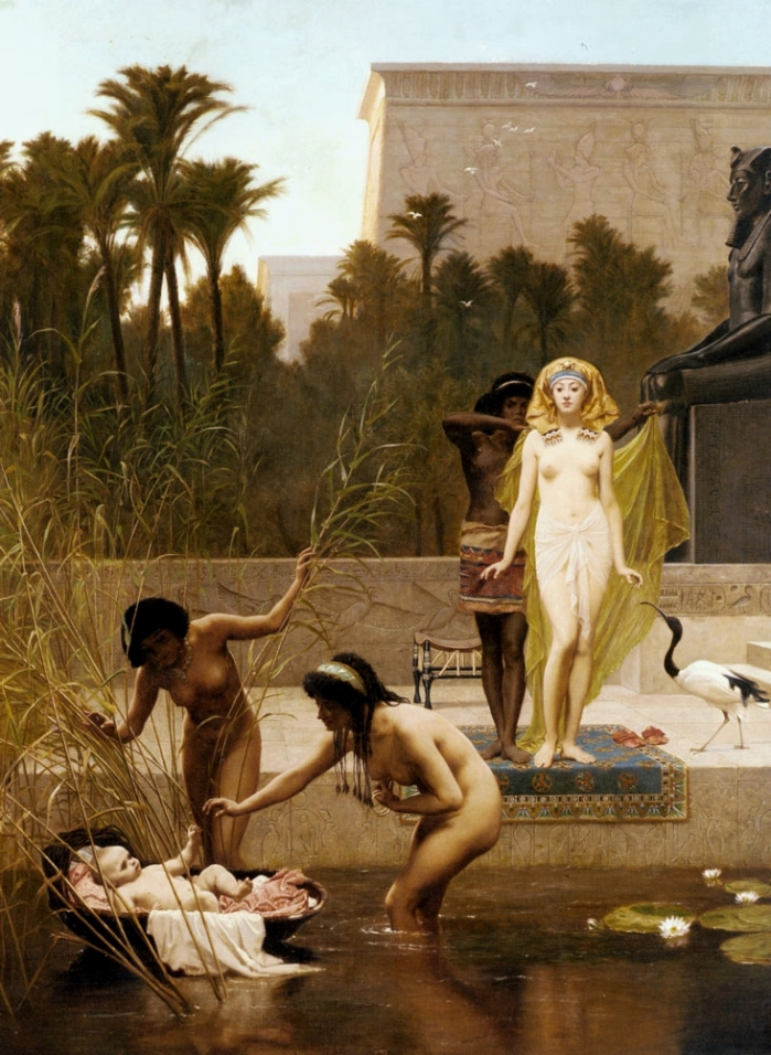 Frederick_Goodall_-_The_Finding_of_Moses