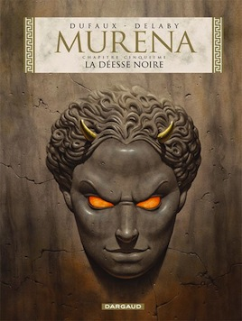 Book cover of the Murena comic book