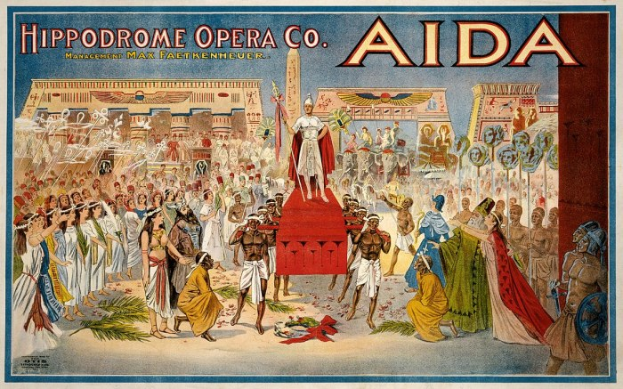 Poster for Aida