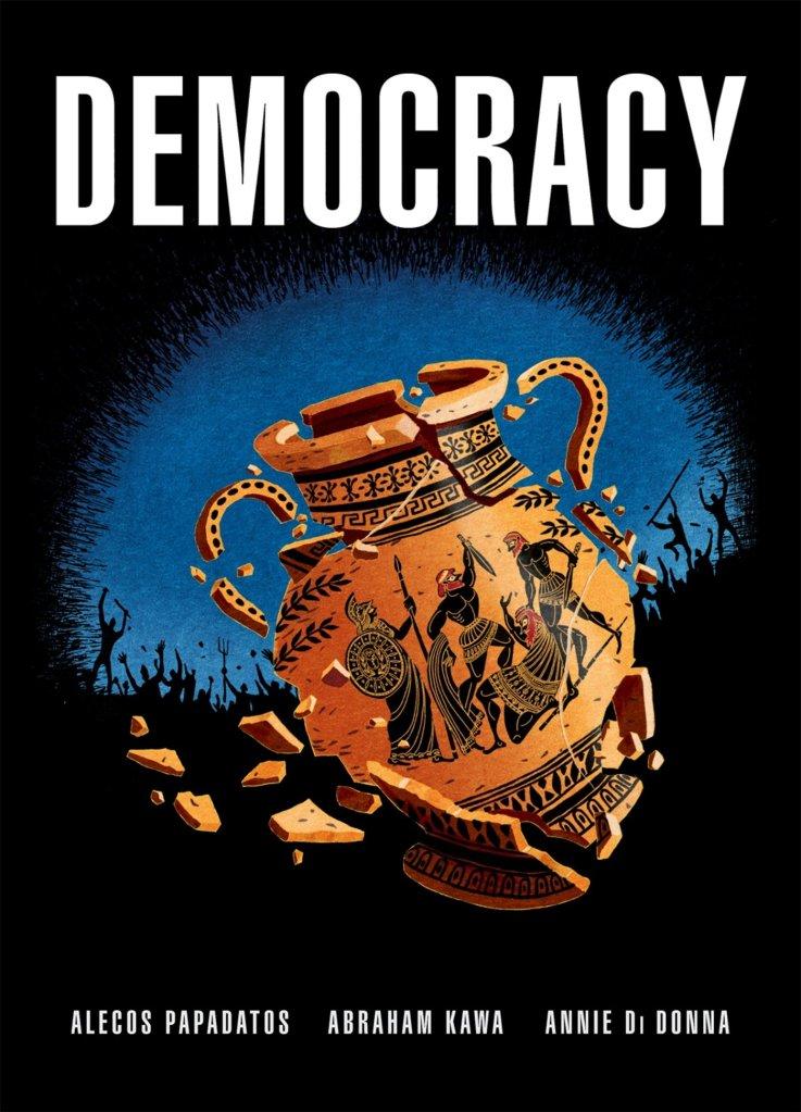Book cover of Democracy by Alecos Papadatos