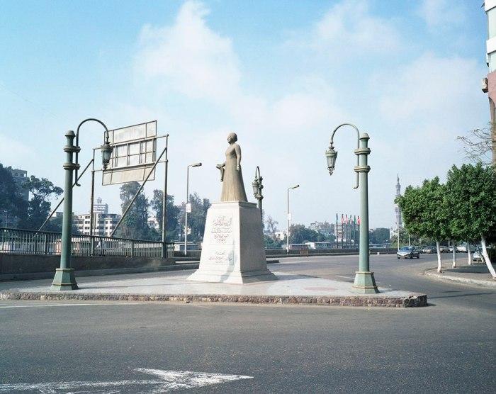 Statue of Umm Kulthum