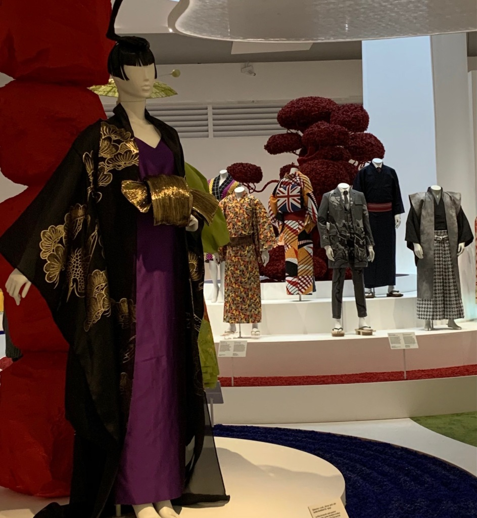 Enticing view of Kimono exhibition